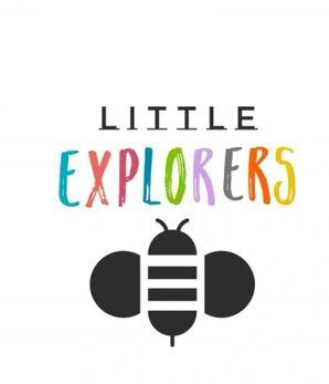 Little Explorers logo with a bee